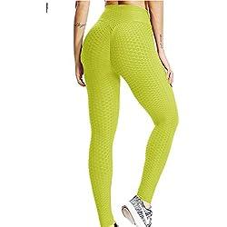 FITTOO Mallas Pantalones Deportivos Leggings Mujer Yoga de Alta Cintura Elásticos y Transpirables para Yoga Running Fitness con Gran Elásticos1480