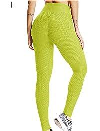 9da78cf929 FITTOO Mallas Pantalones Deportivos Leggings Mujer Yoga de Alta Cintura  Elásticos y Transpirables para Yoga Running
