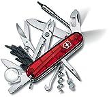 Victorinox - Cybertool Lite - Couteau d'Officier - Rouge Transparent