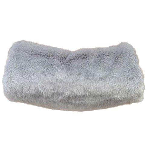 Leisial Winter Super Wärme Niedlicher Muff Armwärmer Muff Handwärmer Damen Muff Handwärmer Schwarz 40*22CM