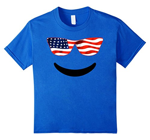 Unique emoji tshirt for independence day us flag s the best Amazon