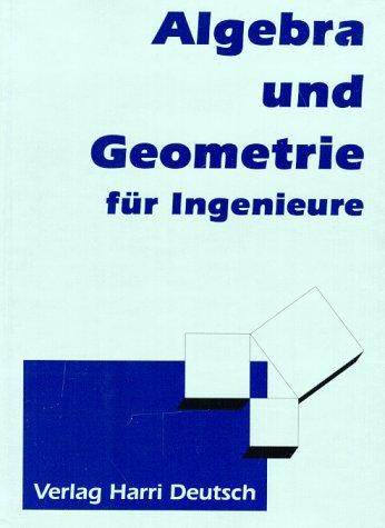 Buchcover: Algebra und Geometrie für Ingenieure