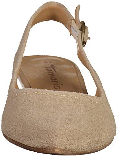 Tamaris29400 - Scarpe con Tacco Donna Beige