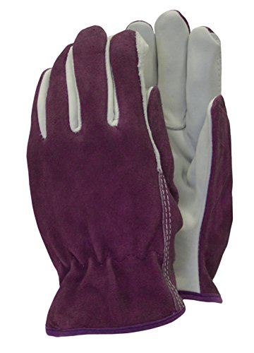 Town & Country Premium - Lederhandschuhe Damen Größe - M Lila
