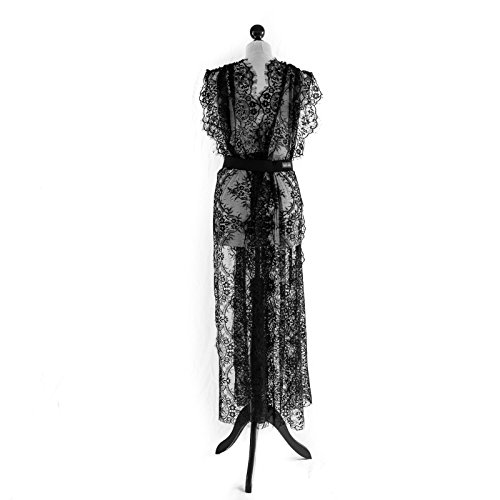 Dom Und Sub Kostüm - SiaLinda: Kleid Lydia Sonderedition Spitze, schwarz,