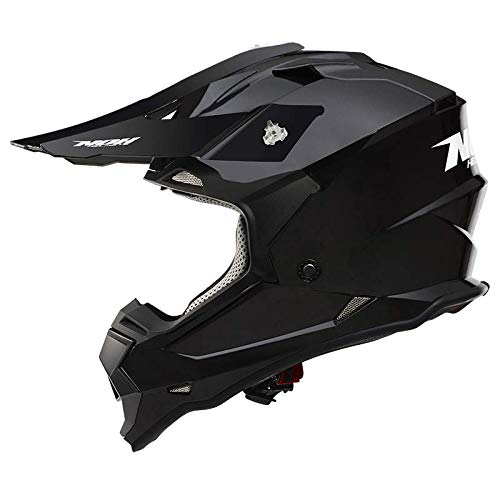 NOX Casco Cross, nero opaco