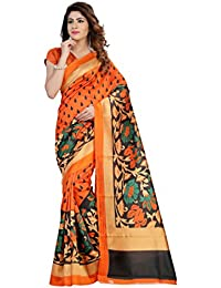 Sarees New Diwali Collection Latest Of 2017 By SVB Printed Sarees Women's Bhagalpuri Art Silk Saree With Blouse...