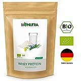 BioNutra® Whey Protein Bio 1000 g, 100% hochwertiges Molkenprotein aus Deutschland, ohne Zusatzstoffe und Süßungsmittel, natürlicher Geschmack