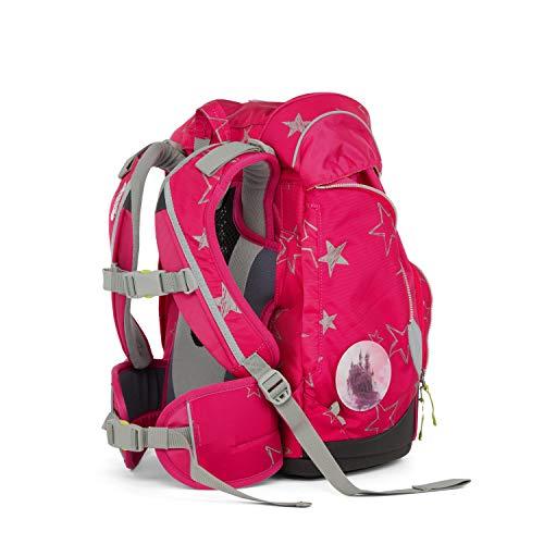 Ergobag Pack CinBärella, ergonomischer Schulrucksack, Set 6-teilig, 20 Liter, 1.100 g, Pink
