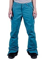 Nitro Snowboard-Hose Whistler W Pant 15 - Pantalones de esquí para mujer, color marrón claro, talla M