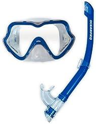 Ocean Pro Youth Ningaloo Mask and Snorkel Set - Blue