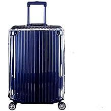 lā Vestmon Reisegep/äckh/ülle Schutzh/ülle Transparent PVC Staubdicht Kratzfestes Gep/äckschutz Cover Kofferabdeckung Trolley Case Protector