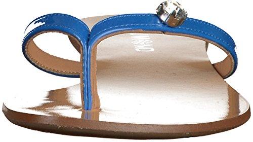 Dumond 4110972 Damen Zehensteg Sandalen Blau