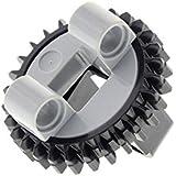 1x Lego Technic Drehkranz flach schwarz neu-hell grau Turntable 4624645 48452cx1