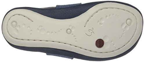Camper Right Kids, Richelieu fille Bleu (Blue 093)