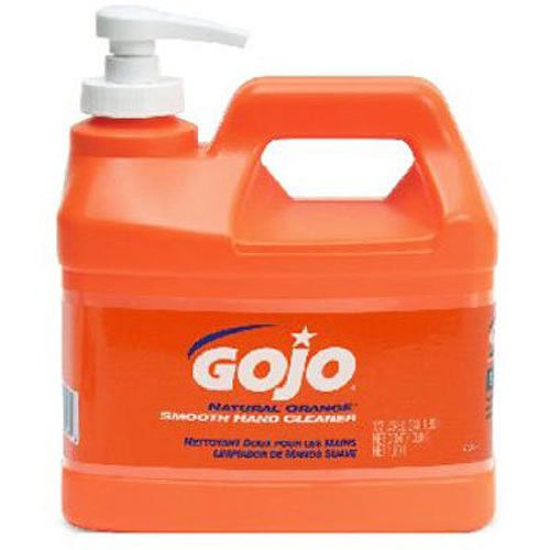 GOJO INDUSTRIES INC - Hand Cleaner / Lotion, Natural Orange, .5-Gal. Pump