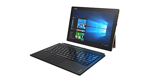 "Lenovo IdeaPad Miix 700 12"" 2-in-1 Laptop/Tablet - (Intel Core m3, 4 GB SDRAM, 64 GB SSD, Windows 10) Gold"
