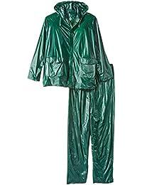 Stansport Men's Vinyl Rain Suit, Green, Large