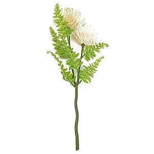 Epaynetwork – Cojín de crisantemo Artificial, diseño de Flores Artificiales, 2 Cabezas
