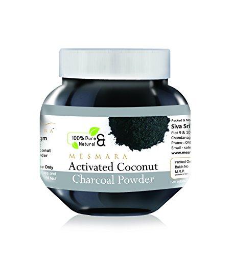 Mesmara Activated Coconut Charcoal Powder 125gm