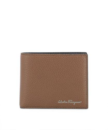 Salvatore Ferragamo Herren 0677896 Braun Leder Brieftaschen (Brieftaschen Ferragamo Herren)