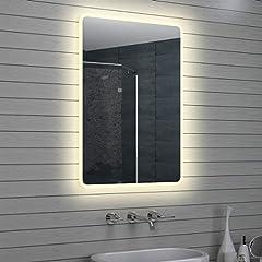 Idea Regalo - Lux Aqua Design LED Specchio Luce Specchio Bagno Specchio da Parete Specchio 100x 70cm