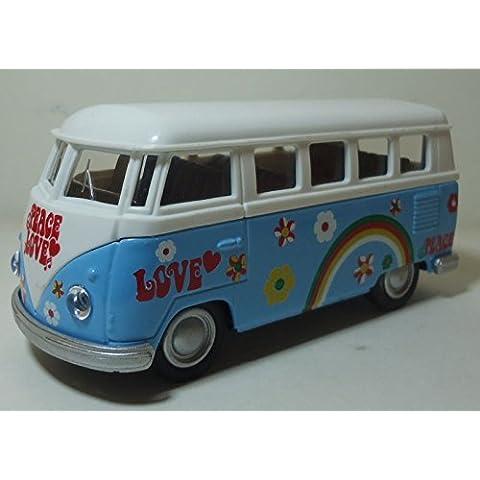 FURGONETA HAPPY - HIPPIE AÑOS 60 TIPO VW FURGON BUS