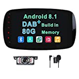 Android 8.1 Autoradio stéréo Dab+ (Buil-in)...