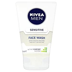 Nivea for Men Sensitive Face Wash (100ml, Extra Soothing)