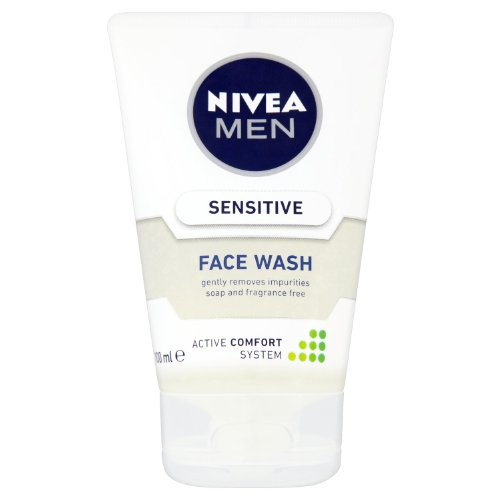 Nivea Men Sensitive Face Wash 100 ml - Confezione da