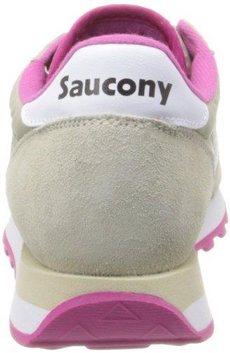 Saucony Jazz Original donna, pelle scamosciata, sneaker bassa Beige/Rosa