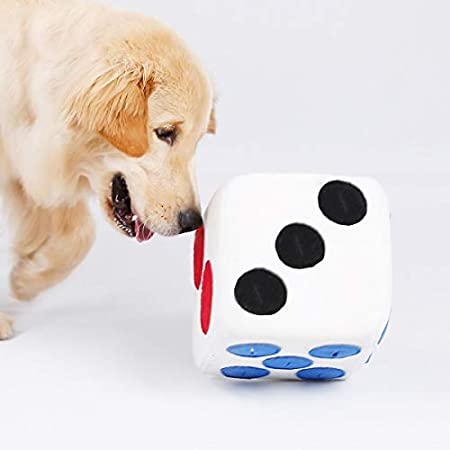 Lifemaison Intelligenzspielzeug Schnüffelteppich Würfel Hund Interaktives Spielzeug Kauspielzeug Haustier Riechen Trainieren Spielzeug Hundespielzeug Spielen Matte Toy