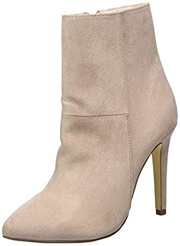 Bianco Damen Classic Stiletto Boot 26-49116 Kurzschaft Stiefel, Beige (Nougat), 39 EU
