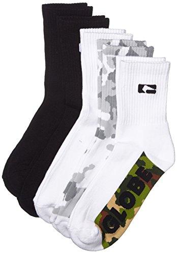 Globe Herren Socken Malcom Crew Socks, Camo, 7-11, GB71039042 (Socken Camo)