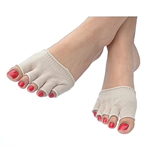 Five Toe Protective Sock - Get instant relief corns, calluses, blisters, bunions, athlete's foot, gout, (Bunion Bandage)