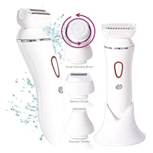 Rio 4-in-1 Lady Shaver and Facial Brush