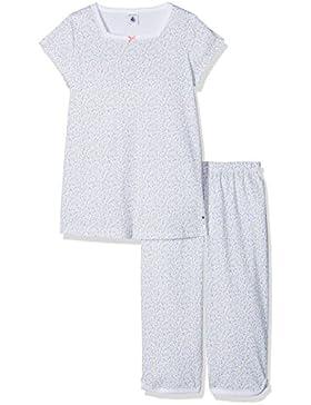 Petit Bateau Mädchen Zweiteiliger Schlafanzug