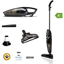 SAMBA Aspirador Vertical y de Mano Duo Stick - Aspirador Escoba con Cable 2 en 1