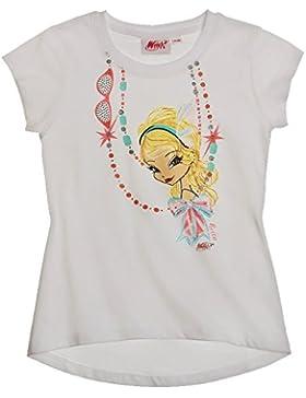 Winx Club T-Shirt für Mädchen Kurzarm in 3 Varianten und 4 Größen