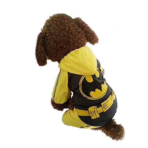 Cachorro polic/ía Agente de Justicia BulzEU Disfraz de Disfraz de Halloween Abrigo Navidad Camiseta de Seguridad para Mascotas Ropa para Mascotas Perro