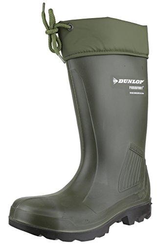 Dunlop, Bottes pour Femme Vert - Verde (Oliv / Grün)
