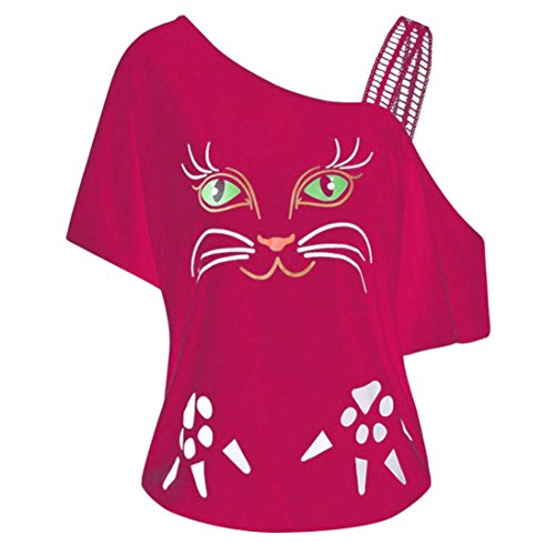 Sanfashion bekleidung camicia - con bottoni - tinta unita - a punta tonda - manica corta - donna pink xl
