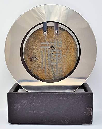 seliger Schieferbrunnen,Feng Shui Brunnen Ottawa,14 x 21 x 30 cm
