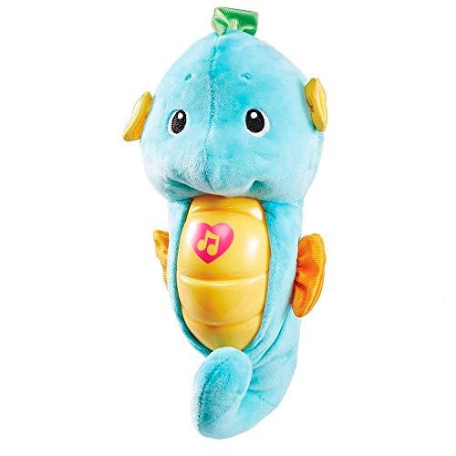 Fisher-Price Mattel Repetición de Alarma y Bombilla de Caballito de mar Azul