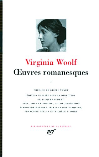 Œuvres romanesques (Tome 1) par Virginia Woolf
