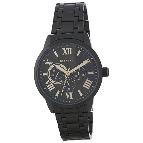 Giordano Analog Black Dial Men's Watch - A1077-44