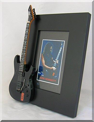 Kirk hemmett Miniatur Gitarre Foto Rahmen METALLICA ESP