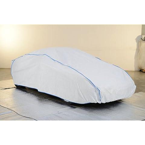 autoabdeckung, completo de toda Garage, Car Cover–MITSUBISHI 4WD EX en blanco Exclusive de Tyvek Exclusive de Tyvek con bolsa de