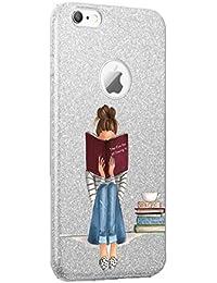 Teryei Funda iPhone 5/5S TPU+PC Case Anti-Golpes protección Rasguño y Resistente [Ultra Slim ] Full Anti-Estático Choque Bumper pour iPhone 5/5S/SE - Polvo de flash