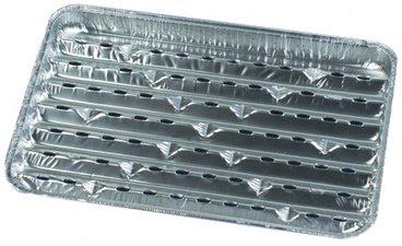 Papstar - Plats à griller  - 5 pcs - Aluminium , 34 x23 x 2.5